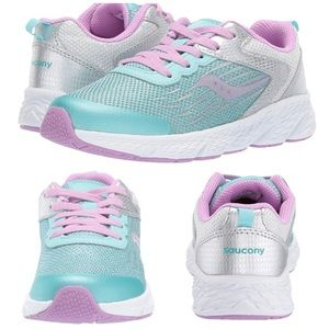 Saucony | S-Wind Girls Lace Up Sneakers 4M